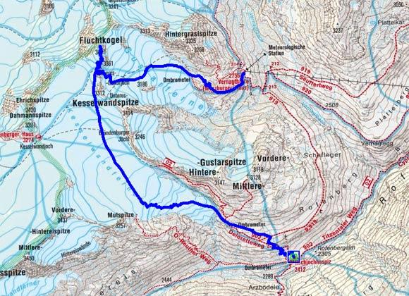 Venter Skirunde Tag 4 - Fluchtkogel
