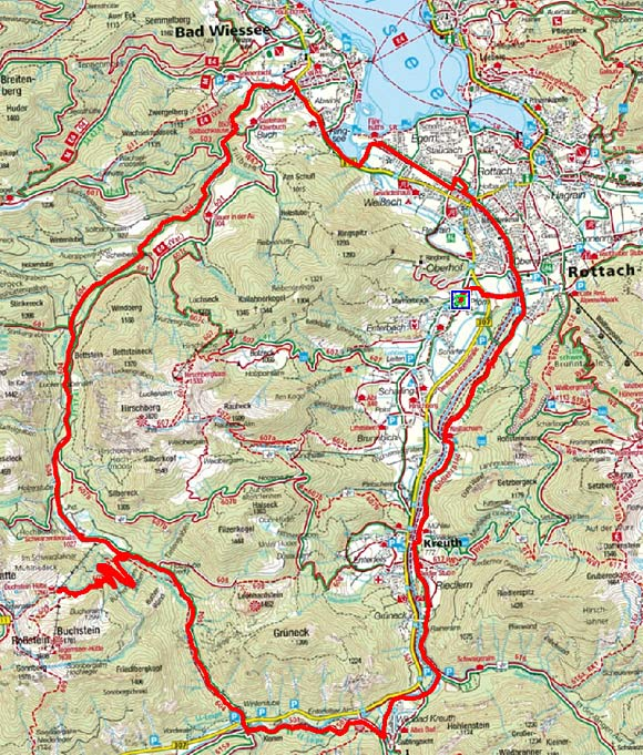 Rund um den Hirschberg mit Buchsteinhütte