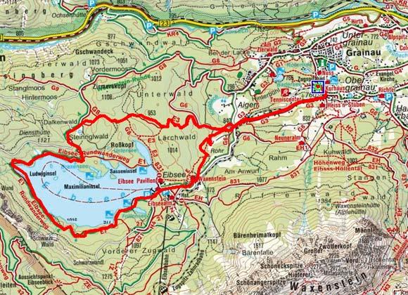 Obergrainau - Eibsee