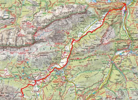 Mittenwald - Leutasch - Rauthhütte