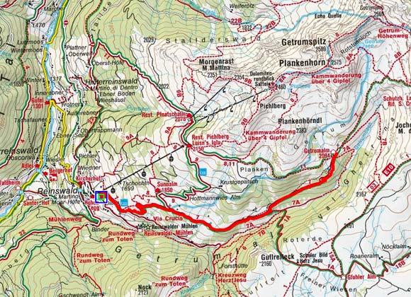 Reinswald - Getrum Alm