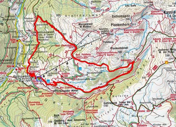 Pichlbergrundtour von Reinswald