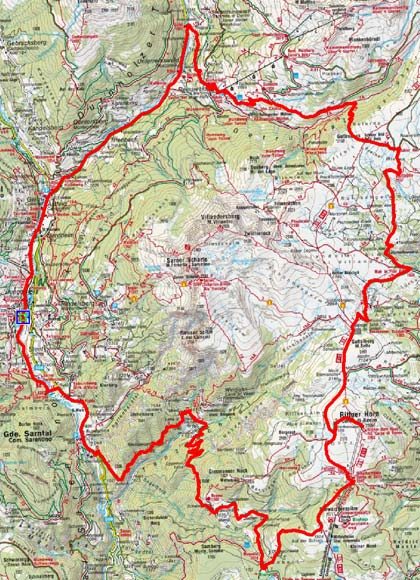 Rittnerhorn - Stöfflhütten Rundtour