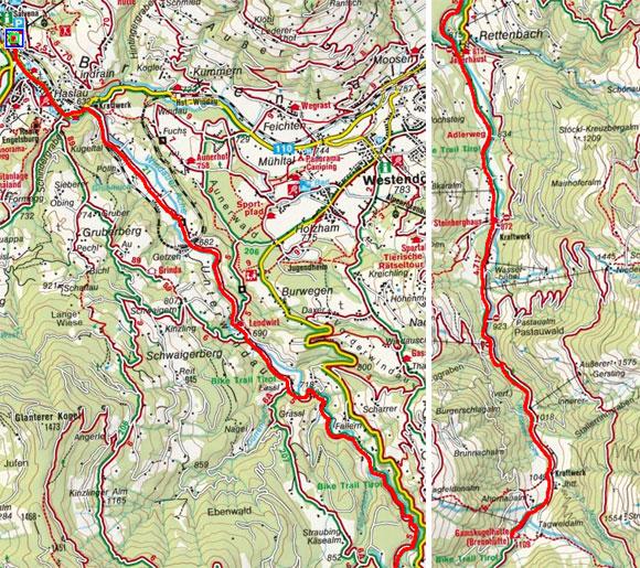 Hopfgarten - Gamskogelhütte