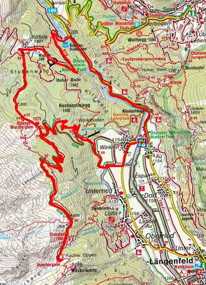 Wurzbergalm - Innerbergalm Rundtour