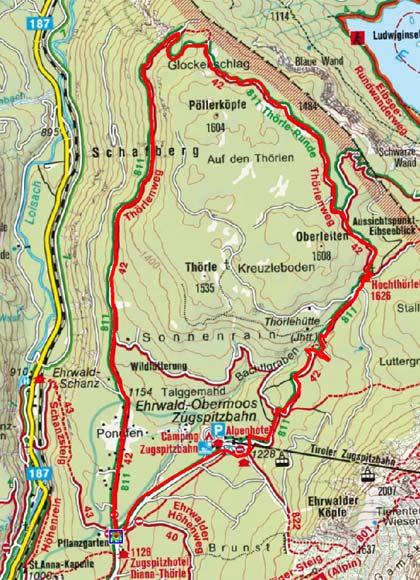 Ehrwald - Hochtöhrlehütte