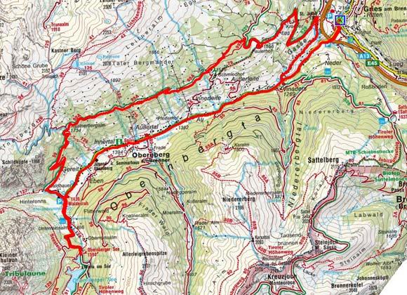 Gries am Brenner - Obernberger See