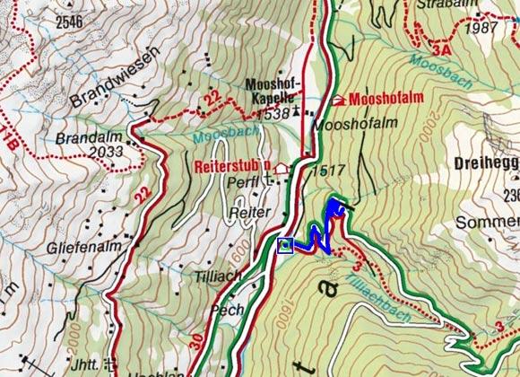 Tilliachbach - Naturrodelbahn