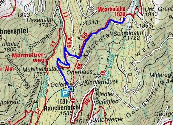 Moarhofalm - Naturrodelbahn