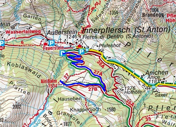 Allrissalm - Naturrodelbahn