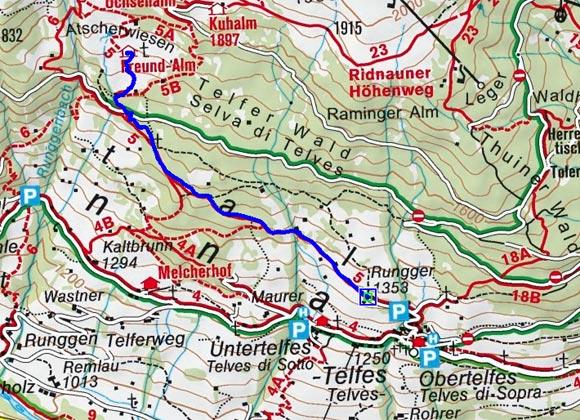 Freund Alm / Atscherwiesen - Naturrodelbahn