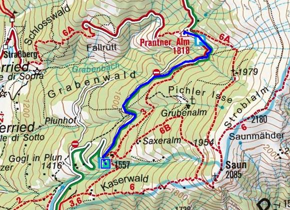 Prantner Alm - Naturrodelbahn