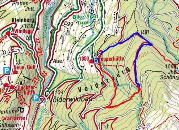 Krepperhütte / Großvolderberg  - Naturrodelbahn