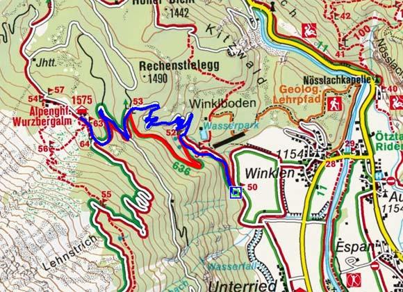 Wurzbergalm - Naturrodelbahn