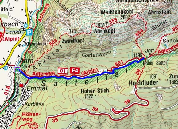 Hoher Sattel - Naturrodelbahn