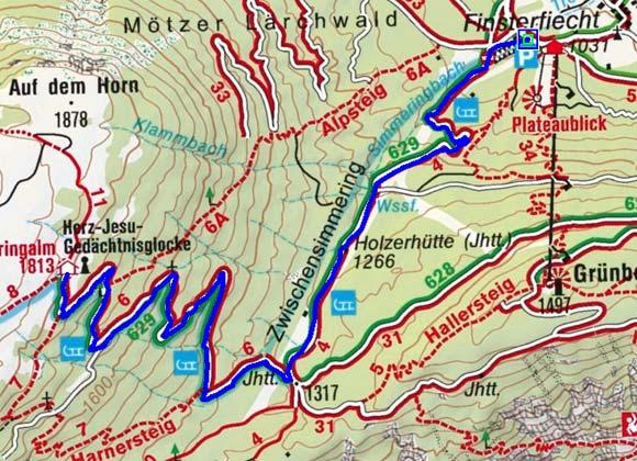 Simmeringalm - Naturrodelbahn