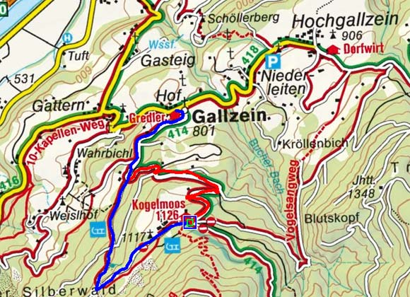 Alpengasthof Kogelmoos  - Rodelbahn