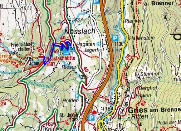 Nösslachhütte - Naturrodelbahn