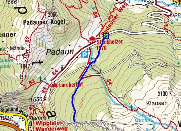 Padaun - Naturrodelbahn