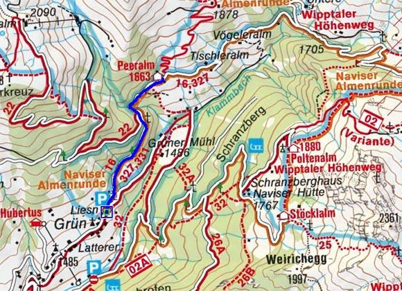 Peeralm - Naturrodelbahn