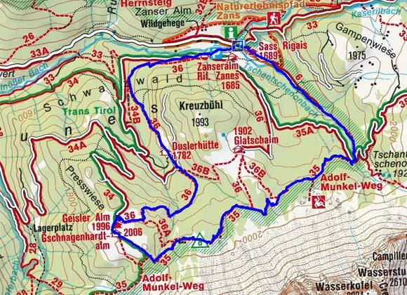 Adolf Munkel Weg - Geisleralm