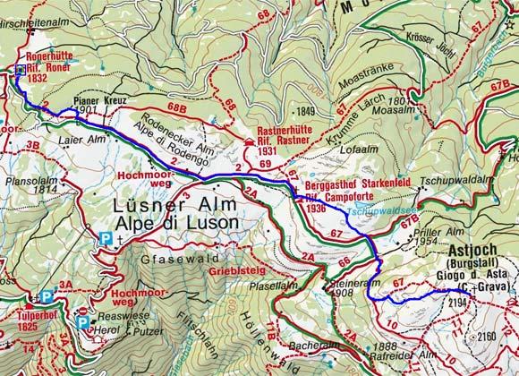 Roner Alm - Astjoch