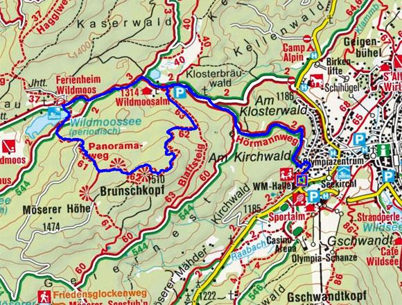 Brunschkopf-Wildmoosalm Runde