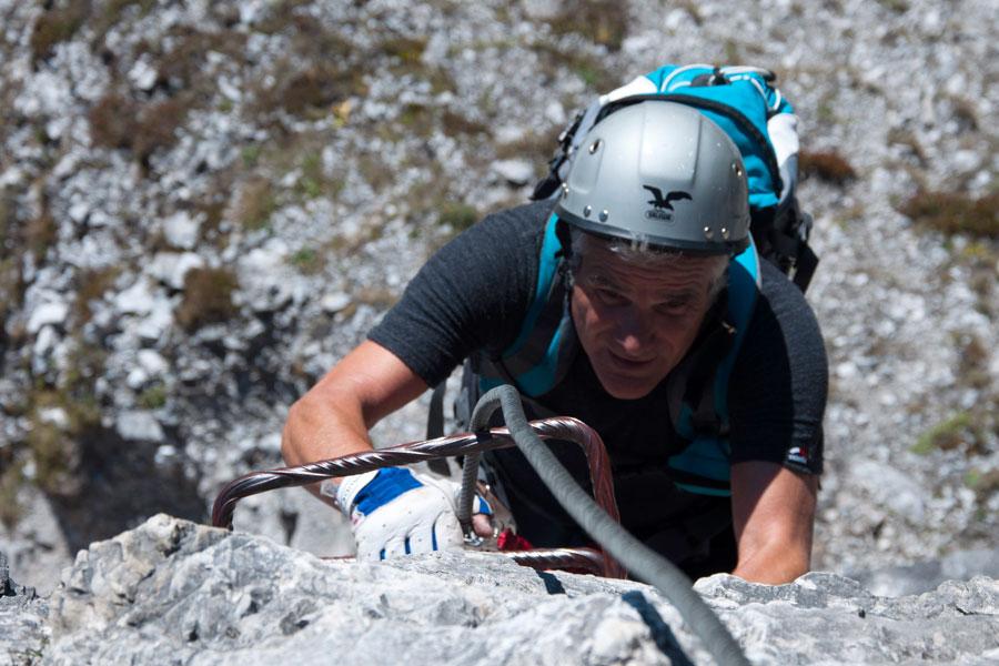 Klettersteigset Mit Seilbremse : Sicherheit am klettersteig