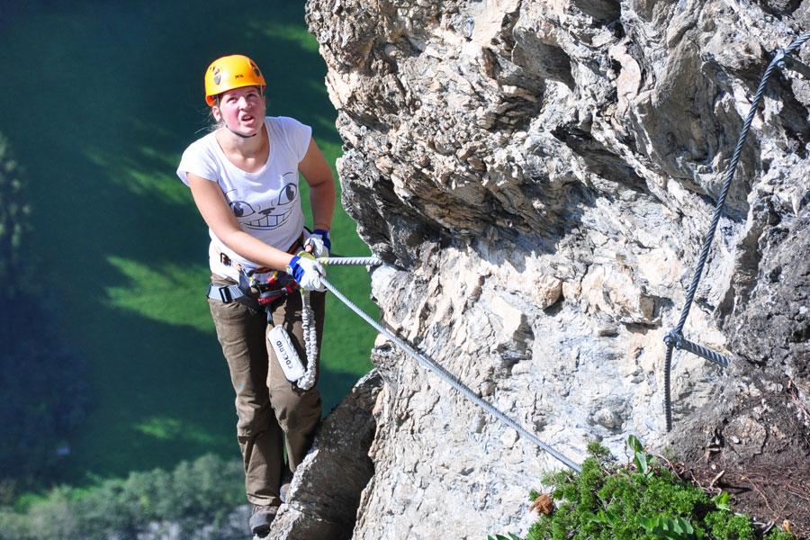 Klettersteig Set Leihen Berchtesgaden : Sicherheit am klettersteig