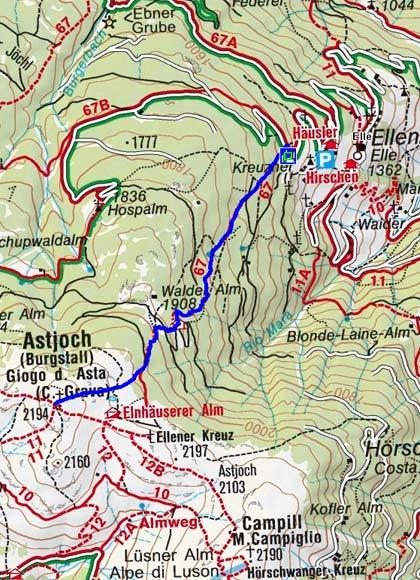 Astjoch (2194 m) von Ellen