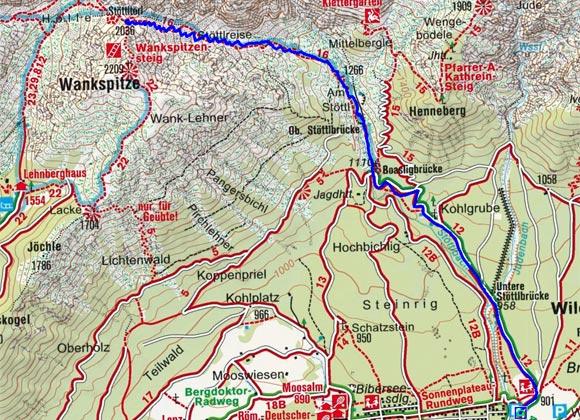 Stöttltörl (2036 m) von Obermieming