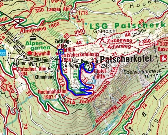 Gipfelstürmer-Skitour von der Patscherkofel-Bergstation