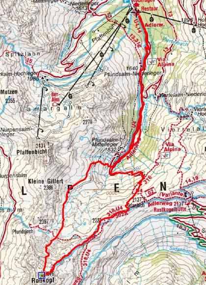Roßkopf (2576 m) von Hochfügen