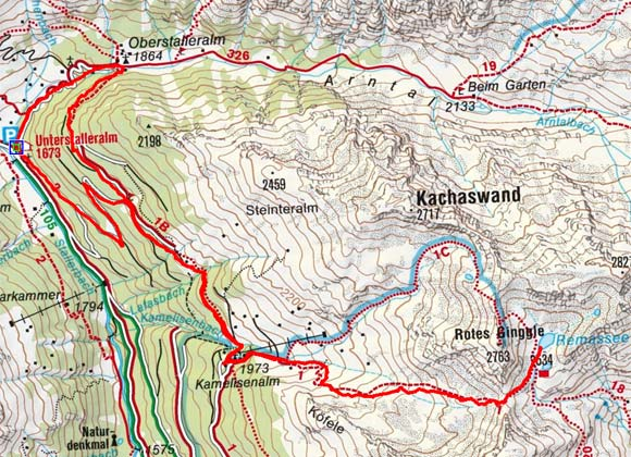 Remesseen, 2.534 m