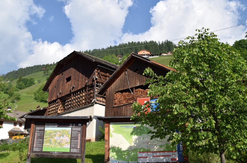 Bauernhof in Campill