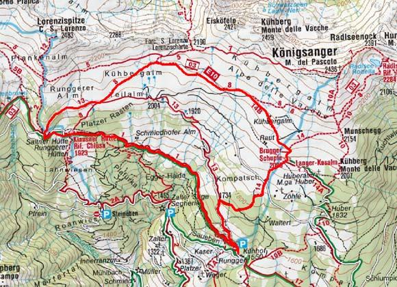 Königsanger Rundwanderung