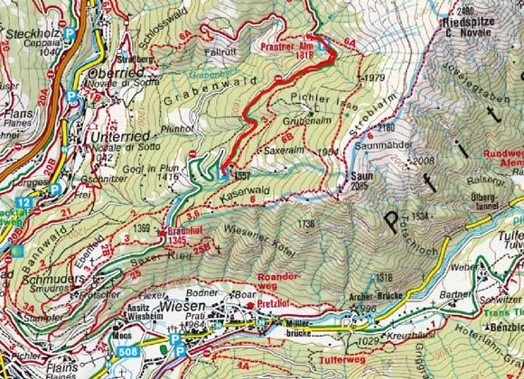 Prantner Alm (1800 m) vom Wanderparkplatz