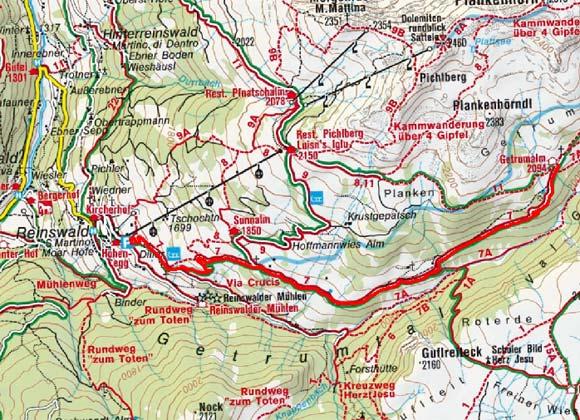 Getrumalm von Reinswald