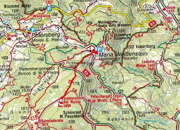 Schönrastalm, 1.699 m