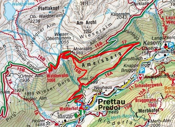Waldneralm von Prettau