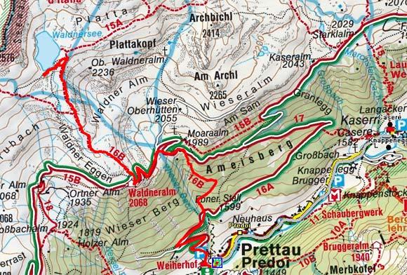 Waldnersee von Prettau