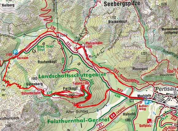 4-Almen-Wanderung bei Pertisau
