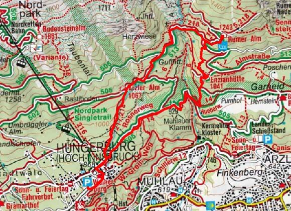 Innsbrucker Almenrunde