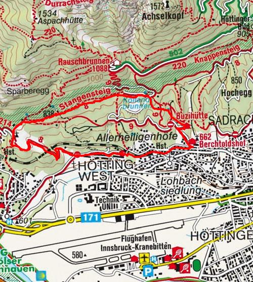 Kerschbuchhof - Kollandbrunnen Rundwanderung