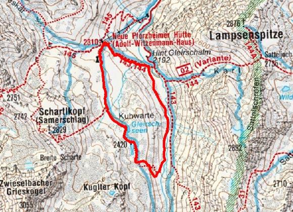 Pforzheimer Rundwanderweg