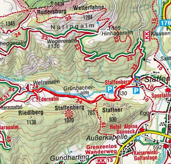 Bergasthof Edern Alm von Kössen