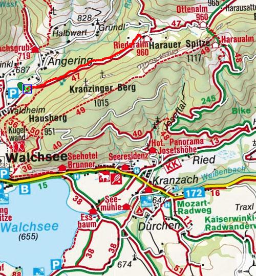 Jausenstation Riederalm von Walchsee/Winkl