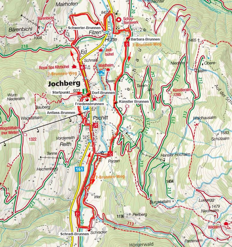 Jochberger 7-Brunnenweg