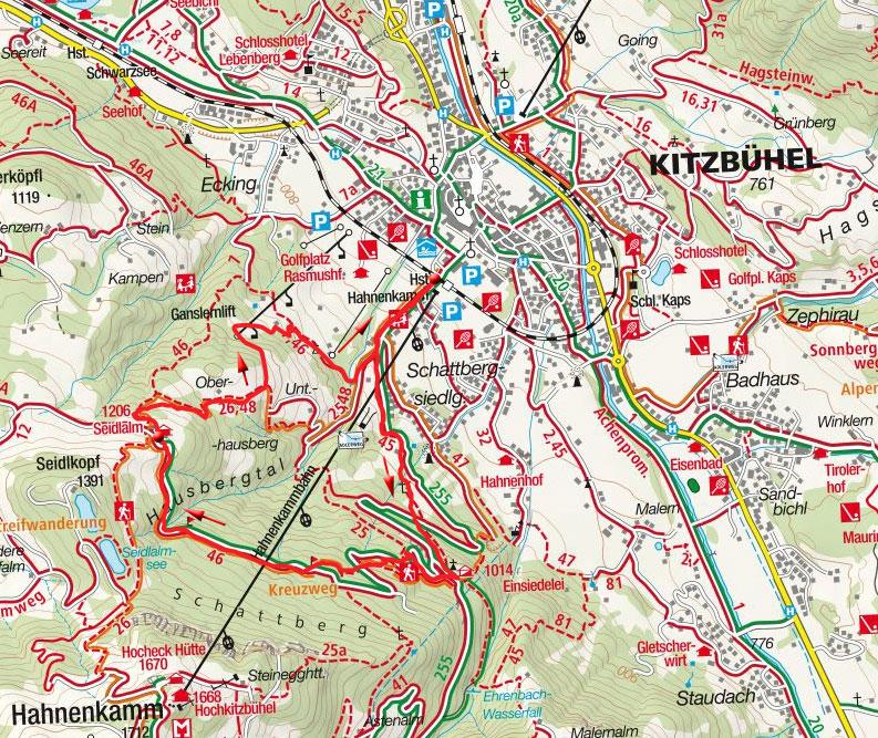 Alter Seidlalmweg bei Kitzbühel