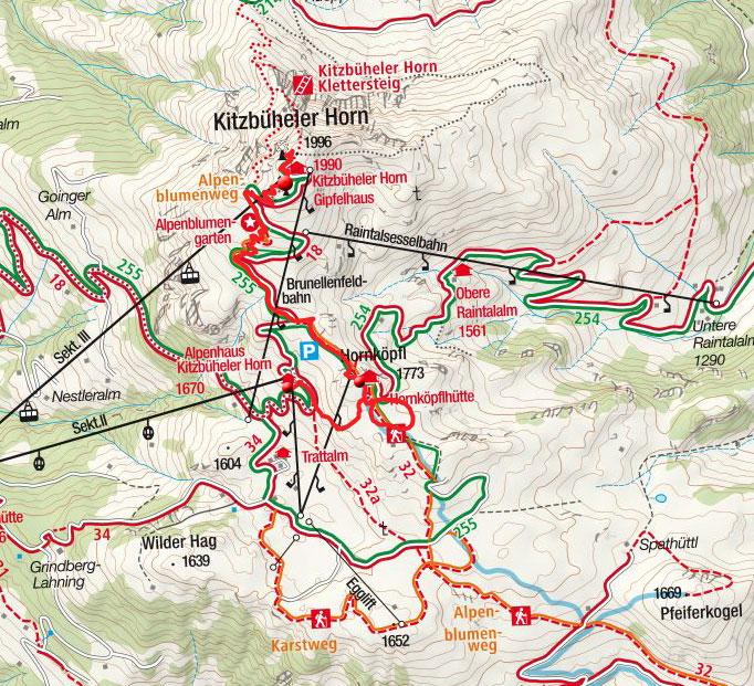 Hornköpflsee von der Horn-Gipfelbahn